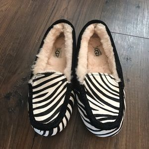 Ugg Zebra Slippers Never Been Worn